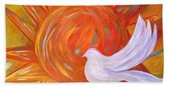 Healing Wings Beach Sheet
