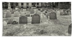 Kings Chapel Burying Ground, Boston Beach Towel