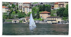 Lake Como Italy Beach Sheet