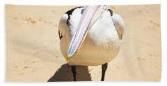 Beach Towel featuring the photograph Pelican During The Day by Rob D Imagery