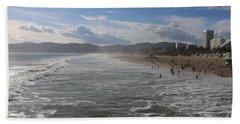 Santa Monica Beach, Santa Monica, California Beach Towel