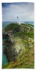 South Stack Lighthouse Beach Towel