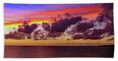 Beach Towel featuring the photograph Sunset by Tony Murtagh
