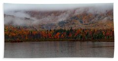 The Basin In Maine Beach Towel