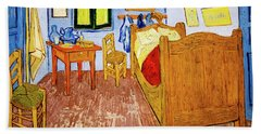 Van Gogh's Bedroom At Arles Beach Towel