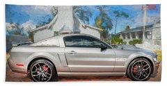 2009 Ford Shelby Mustang Gt Cs California Special 107     Beach Sheet