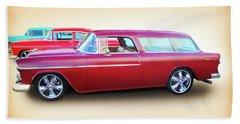 3 - 1955 Chevy's Beach Towel