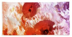 Amapolas Beach Towel