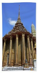 Bangkok, Thailand - Wat Phra Kaew - Temple Of The Emerald Buddha Beach Sheet