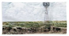 Classic Cattle II Beach Towel