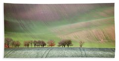 Beach Towel featuring the photograph Autumn In Moravia 3 by Dubi Roman