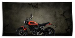 Ducati Monster 696 Beach Towel