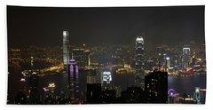 Hong Kong China Beach Towel