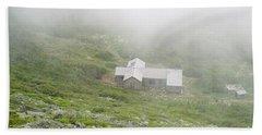 Madison Spring Hut - White Mountains New Hampshire  Beach Sheet