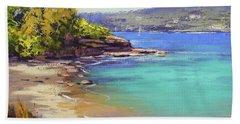 Sydney Harbour Beach Beach Towel
