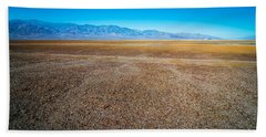 Beach Towel featuring the photograph Death Valley National Park Scenes In California by Alex Grichenko