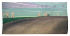 Beach Towel featuring the photograph Autumn In Moravia 5 by Dubi Roman