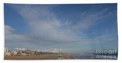 Santa Monica Beach, Santa Monica, California Beach Sheet