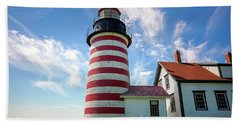 West Quoddy Head Light Beach Sheet