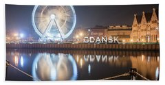 Gdansk, Poland Beach Towel