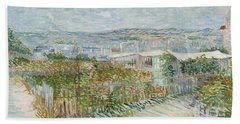 Montmartre - Behind The Moulin De La Galette Beach Towel