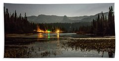 Beach Towel featuring the photograph Sierra National Park Mountains Near Mammoth Lakes Californit by Alex Grichenko