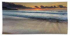 Sunrise Beach Seascape Beach Sheet