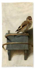 The Goldfinch Beach Towel