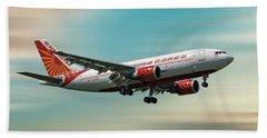 Air India Cargo Airbus A310-304 Beach Towel