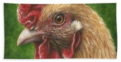 A Chicken For Terry Beach Towel