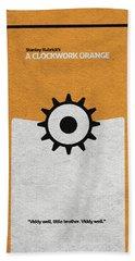 A Clockwork Orange Beach Sheet
