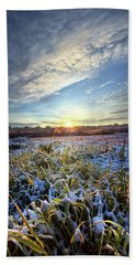 Beach Towel featuring the photograph A Dream Is A Wish That The Heart Makes by Phil Koch