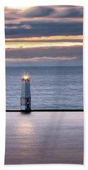 A Guiding Light Beach Sheet