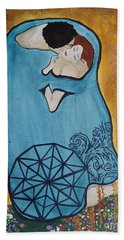A Kiss From The Heart Beach Towel