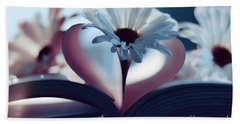 A Little Love And Light In Your Heart Beach Towel