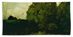 A Pond In The Morvan - Digital Remastered Edition Beach Towel