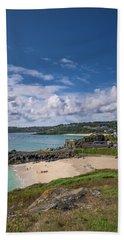 A Walk To Porthgwidden Beach - St Ives Cornwall Beach Towel
