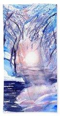 A Winters Dream Beach Towel