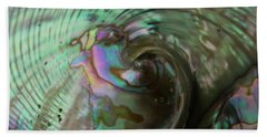 Abalone_shell_9903 Beach Towel