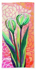 About To Bloom Beach Towel