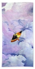 Above The Clouds Beach Towel