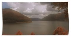 Above The Kinzua Dam Beach Towel