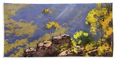 Above The Valley Beach Towel