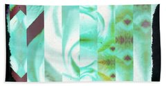 Abstract 089 Beach Towel