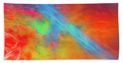 Abstract 51 Beach Towel