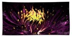 Abstract Digital Dahlia Floral Cosmos 891 Beach Sheet