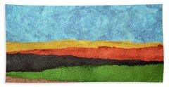 Abstract Landscape Beach Sheet