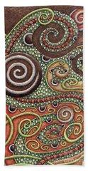 Abstract Spiral 10 Beach Towel