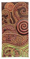 Abstract Spiral 11 Beach Towel