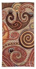 Abstract Spiral 2 Beach Towel